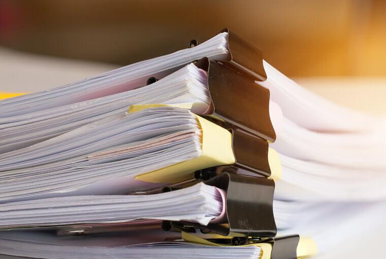 Unterlagen und Dokumente von Mandanten von Rechtsanwältin Ulrike Retzer
